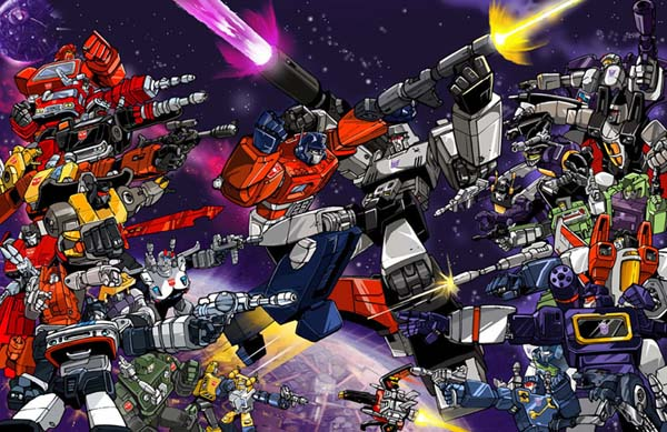 Go Back Gallery For Decepticons Vs Autobots Wallpaper 600x389