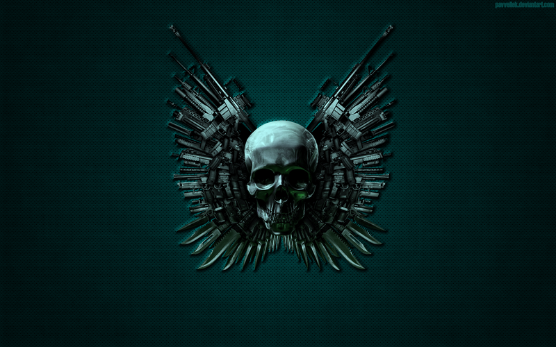 skull wallpaper for windows 7 - photo #14