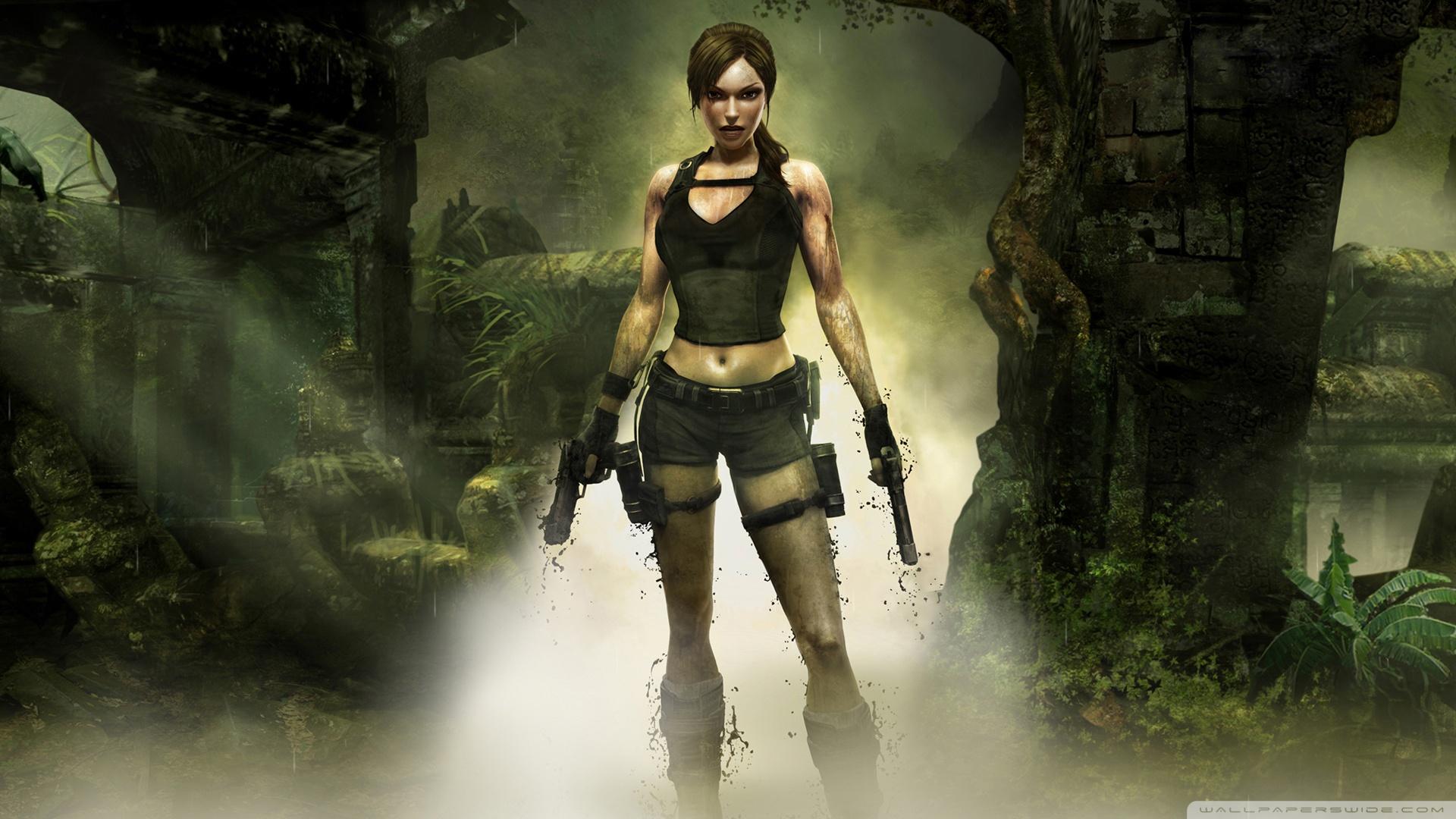 Tomb Raider Underworld Game Wallpaper 1920x1080 Tomb Raider 1920x1080