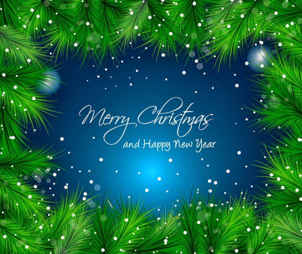 Merry Christmas and Happy New Year 2015 Wallpapers 1000x840