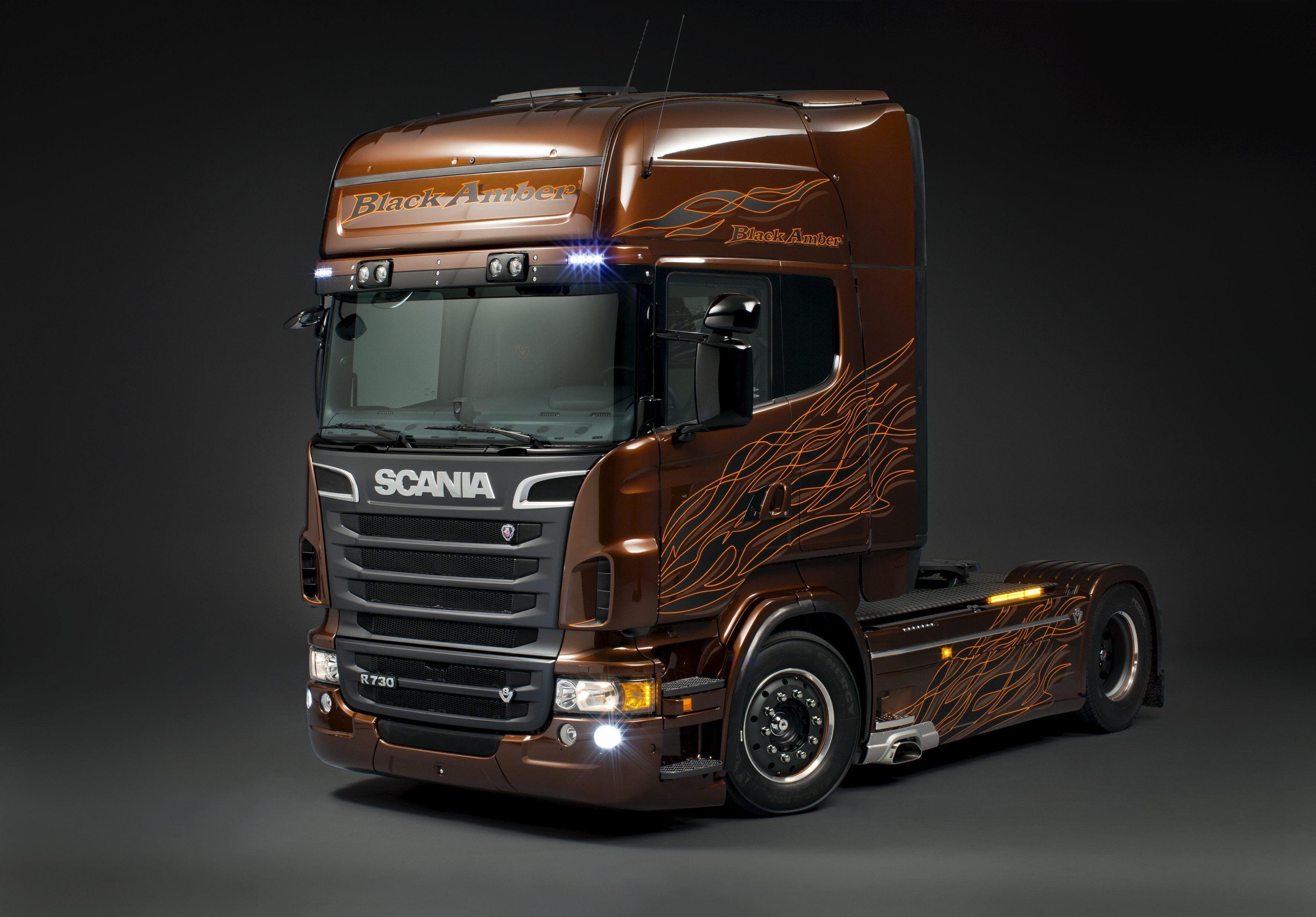 Scania Trucks Wallpapers 3541x2467