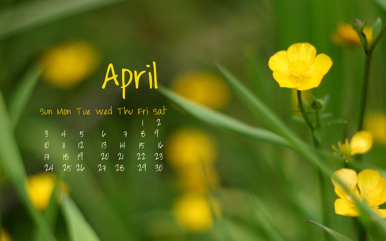 April Calendar Wallpaper Hd : April wallpapers wallpapersafari
