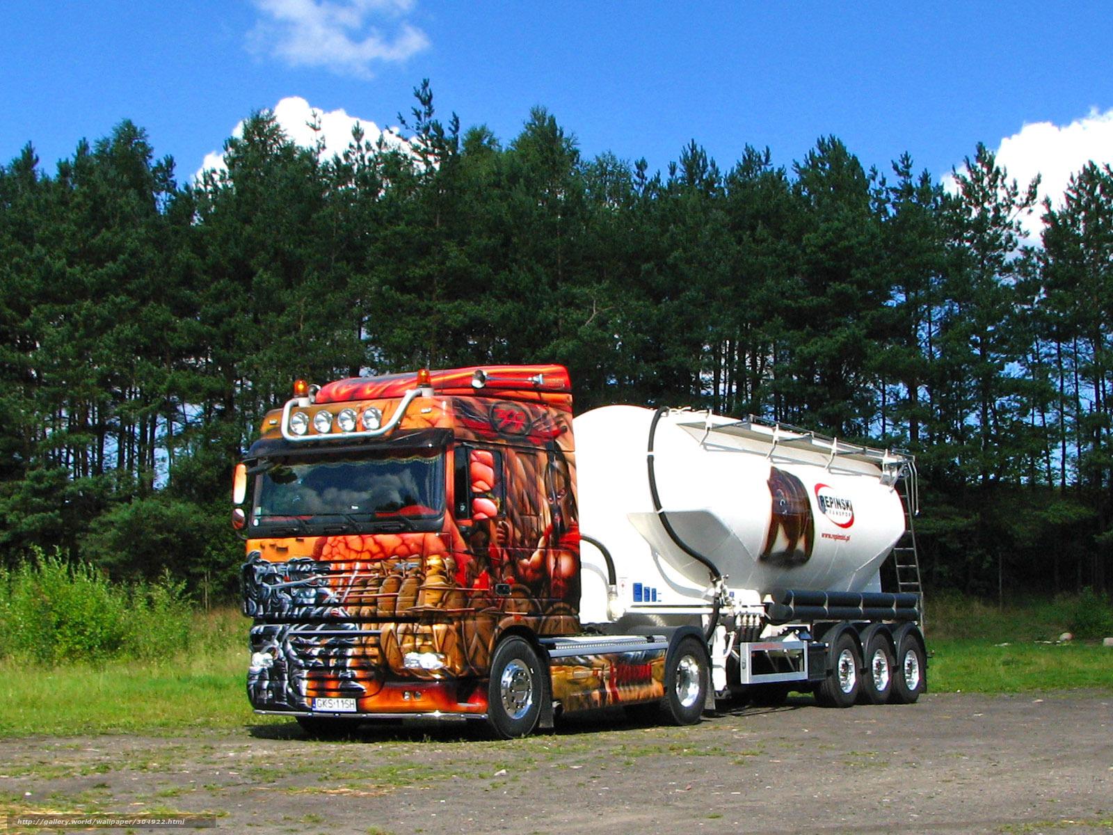 semi truck desktop wallpaper Car Tuning 1600x1200