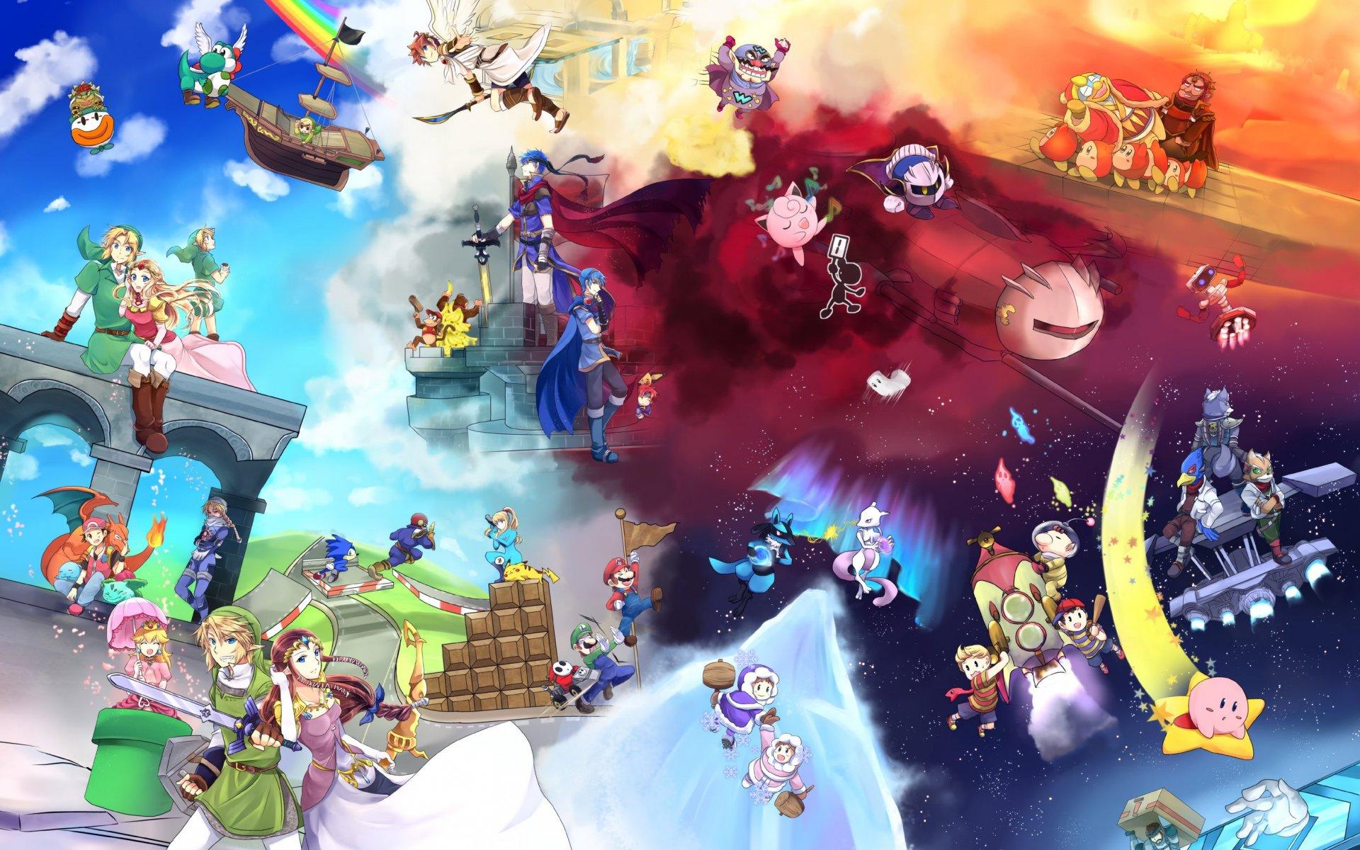 Free Download Wallpaperwiki Photos Super Smash Bros Hd Wallpaper