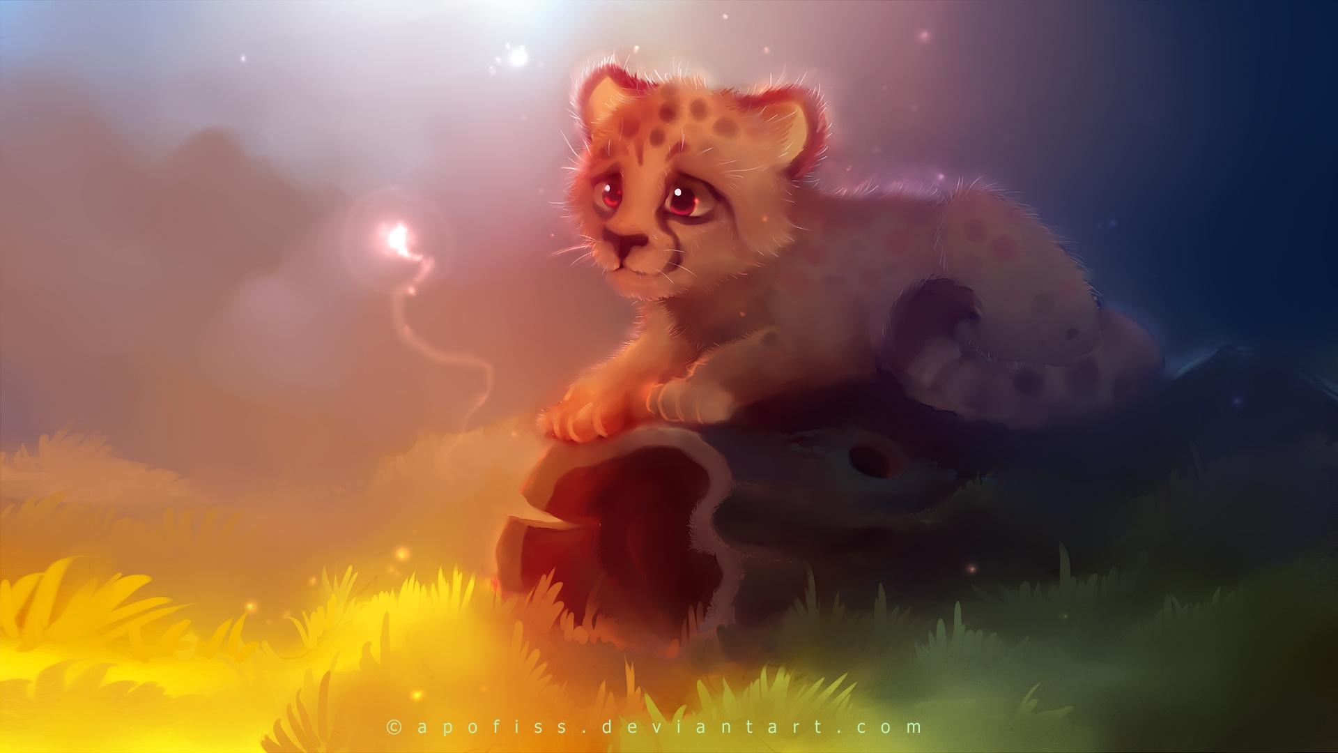 Description Cute Cheetah Wallpaper is a hi res Wallpaper for pc 1920x1080