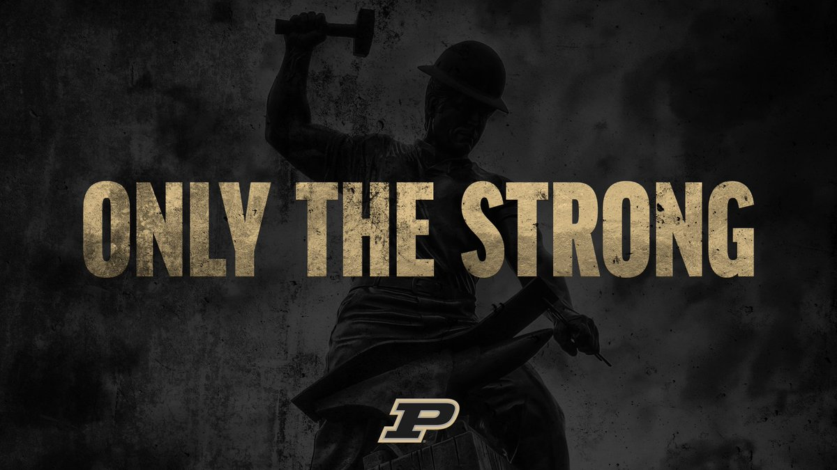 Purdue Athletics on Twitter OnlyTheStrong have this background 1200x675