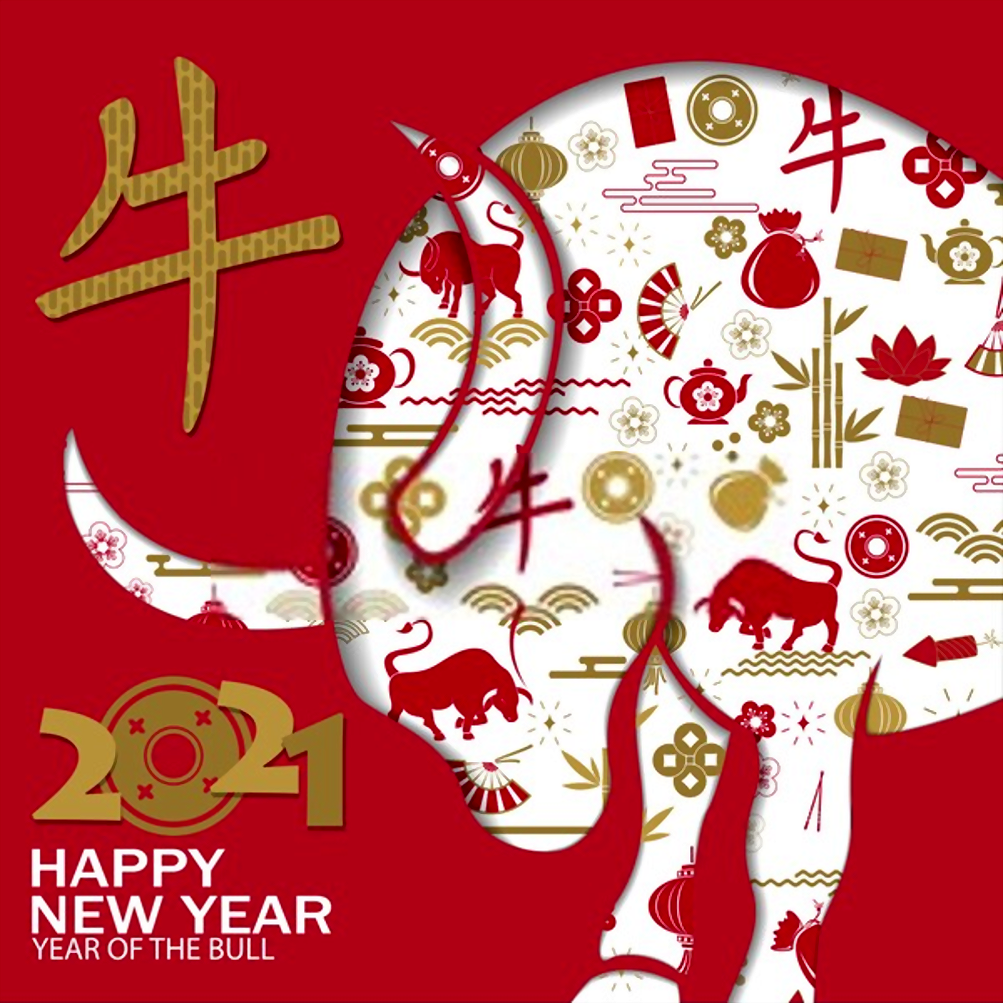 Chinese Lunar Year 2021 Wallpapers 1003x1003