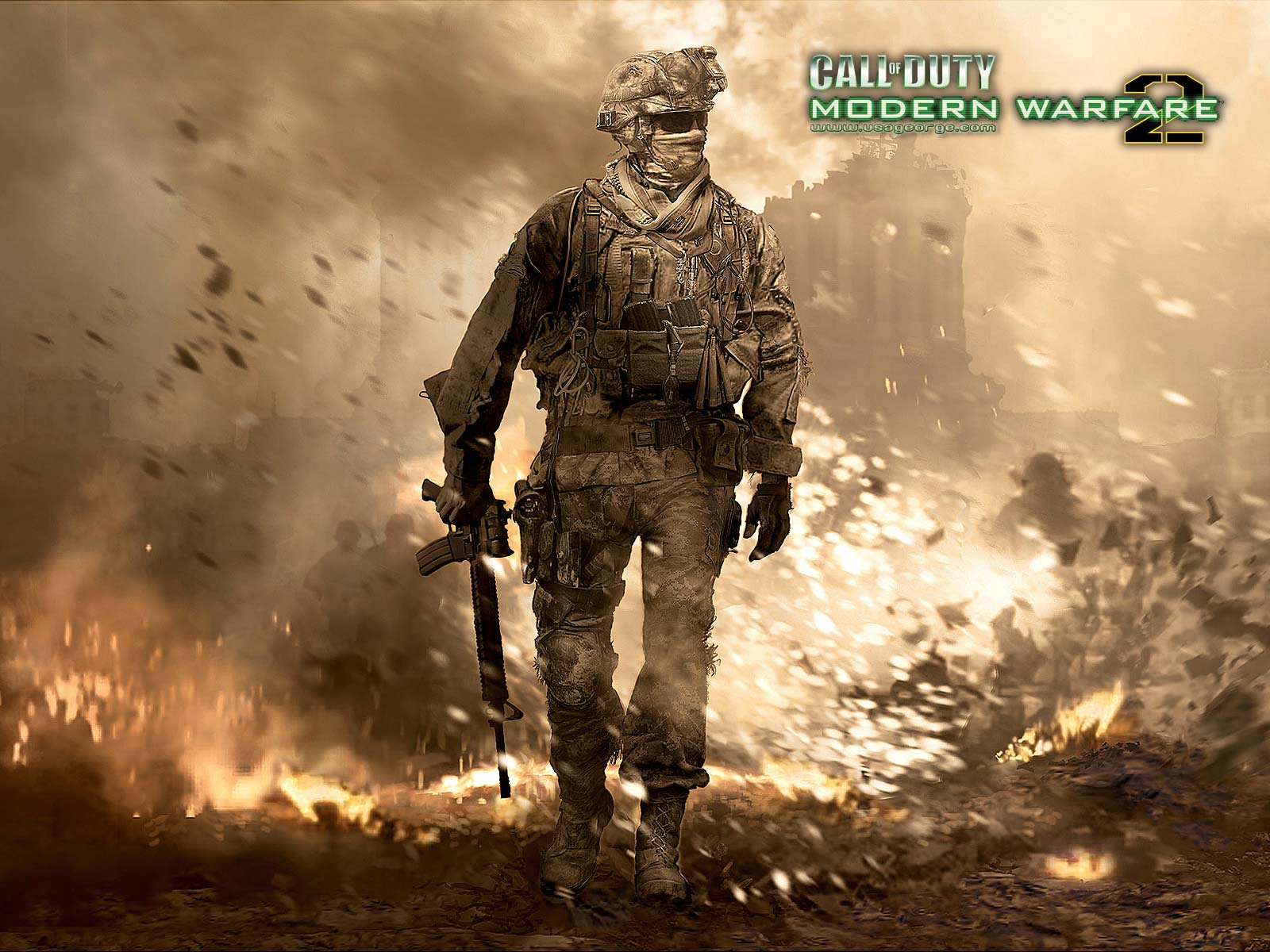 Call Of Duty Modern Warfare 3   HD Game Wallpapers   GamesCay 1600x1200