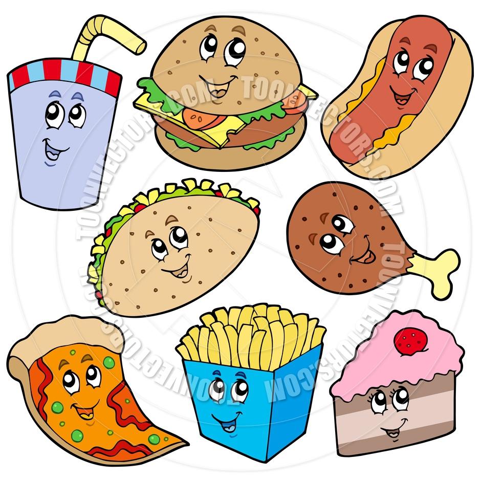 Cartoon Of Eating Food