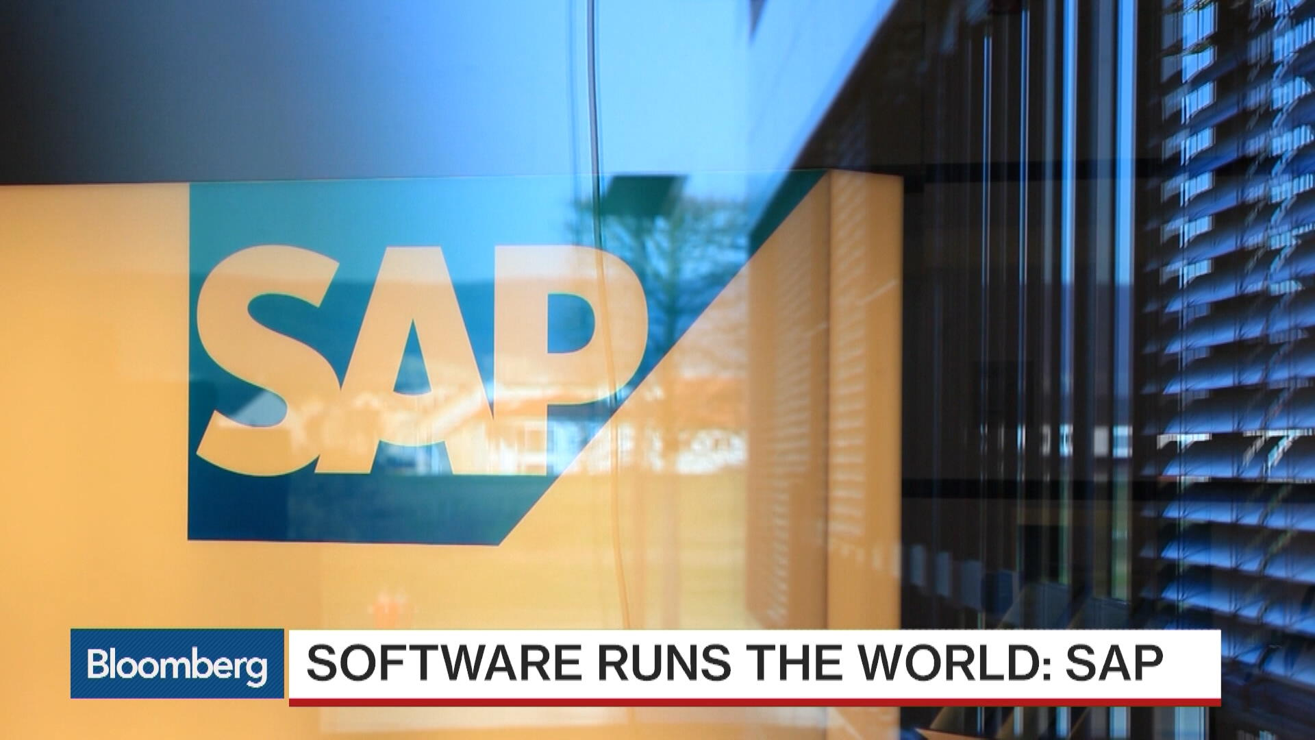 SAP Sees Its Future in the Cloud   Bloomberg 1920x1080