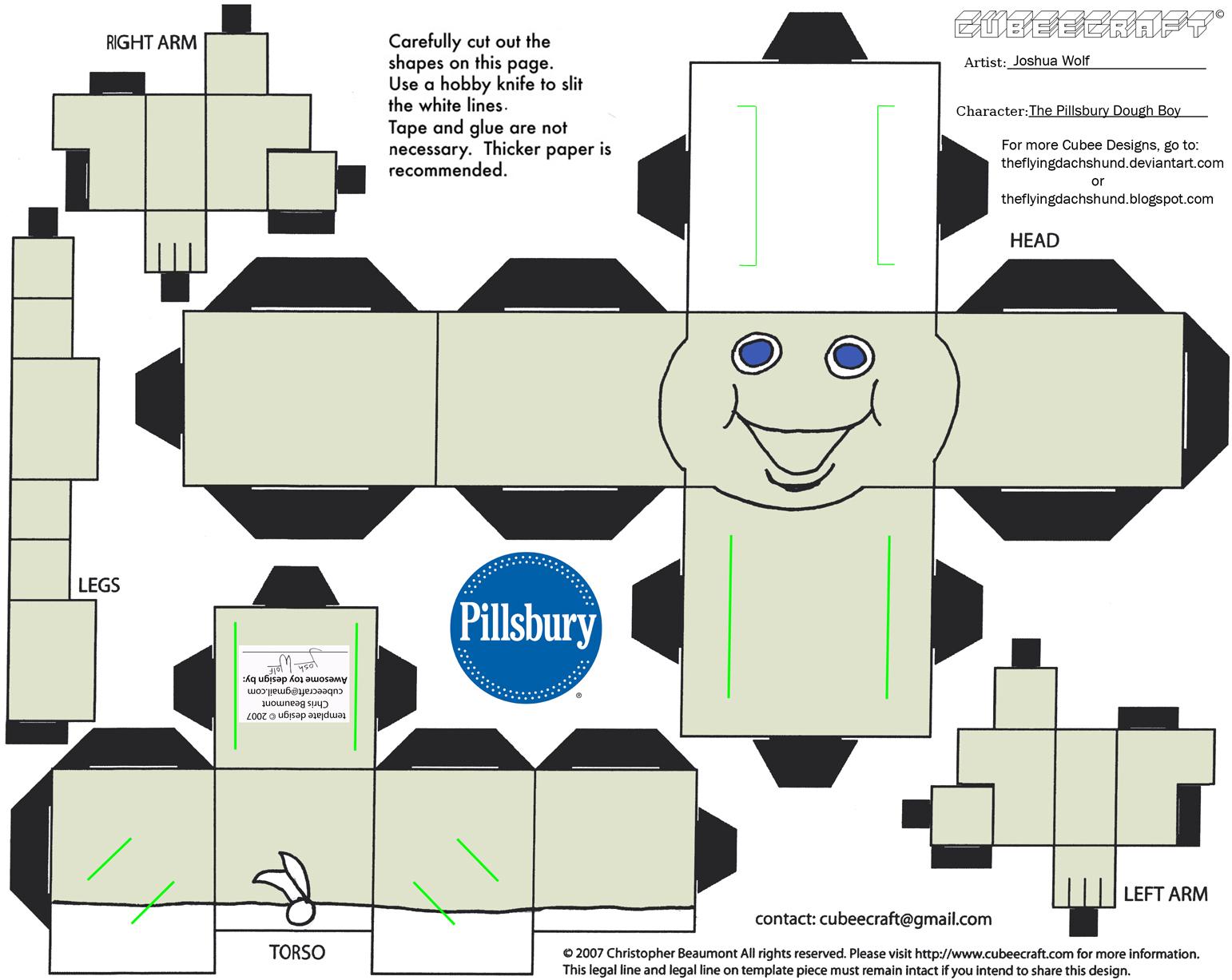 ADV CH 2 Pillsbury Doughboy Cubee by TheFlyingDachshund 1542x1227