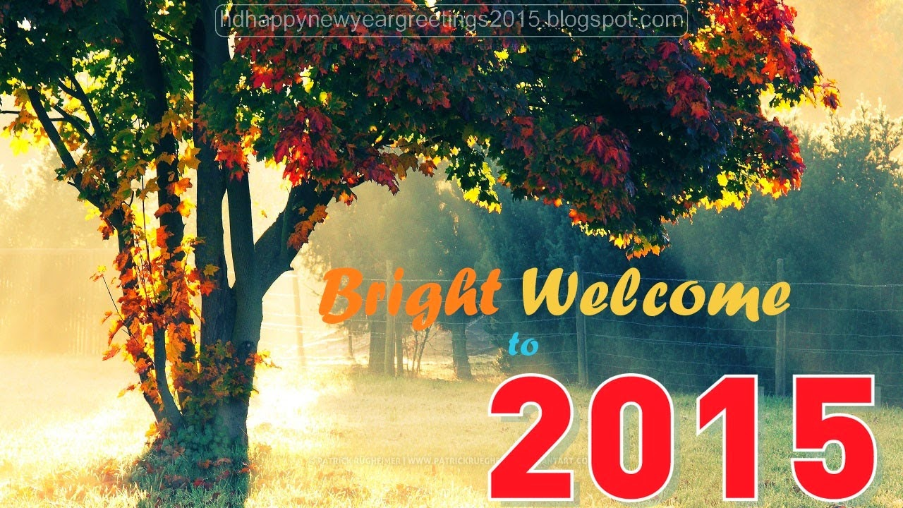 50 Happy New Year Wallpapers 2015 for Desktop 1280x720