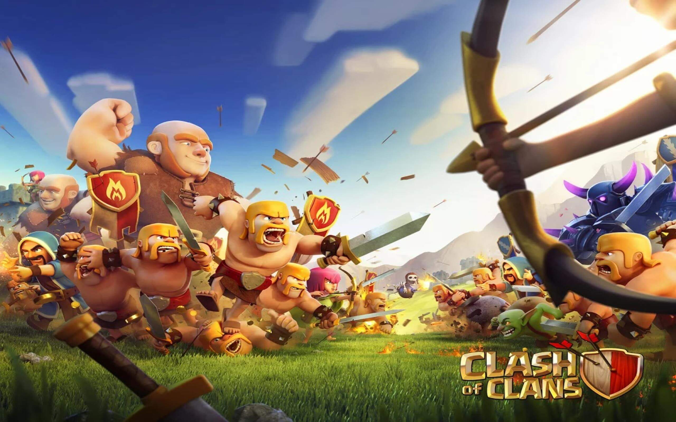 Clash Of Clans Wallpapers and Photos 4K Full HD Everest Hill 2560x1600