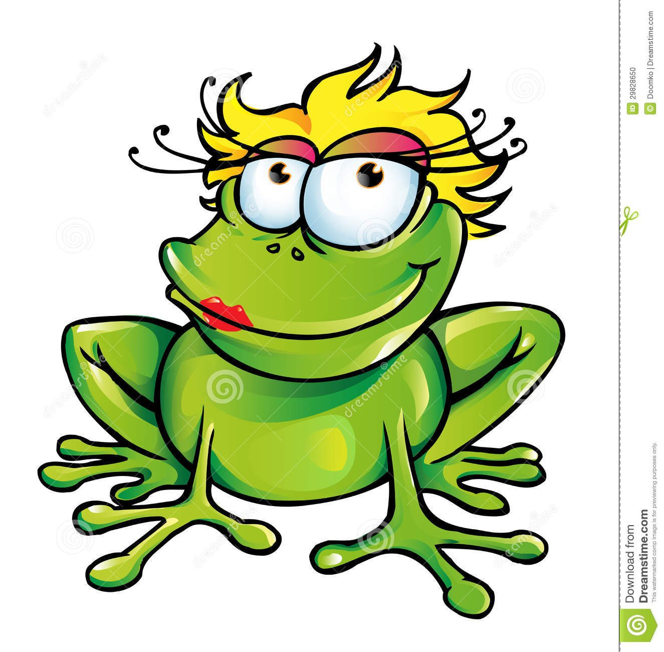 Cartoon frog - photo#41