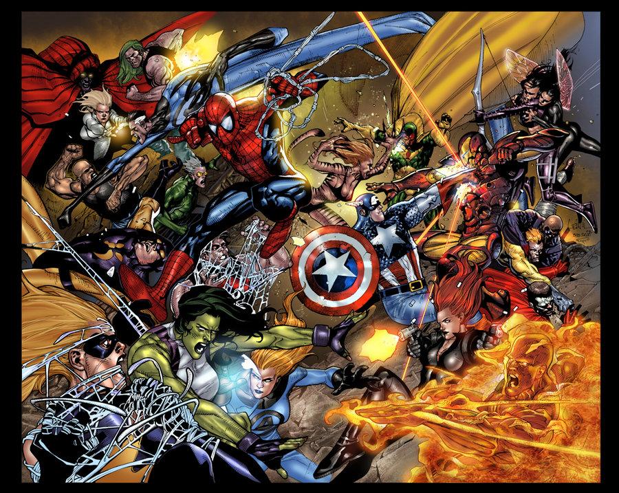 [45+] Avengers Civil War Wallpaper on WallpaperSafari