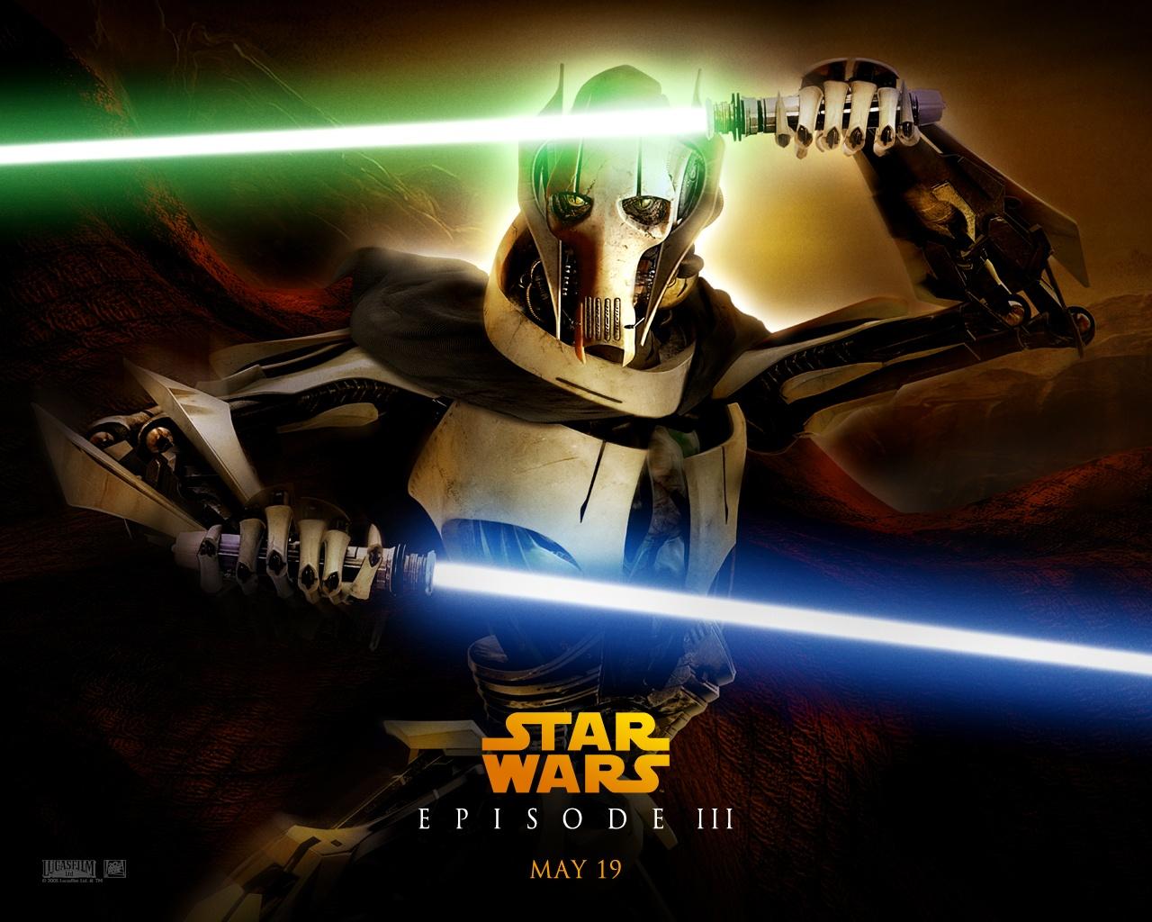 bintang Wars Revenge of the Sith imej ROTS Ep III   General 1280x1024