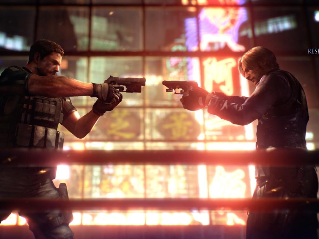 Free Download Resident Evil 6 Images Re6 Wallpaper Hd Wallpaper