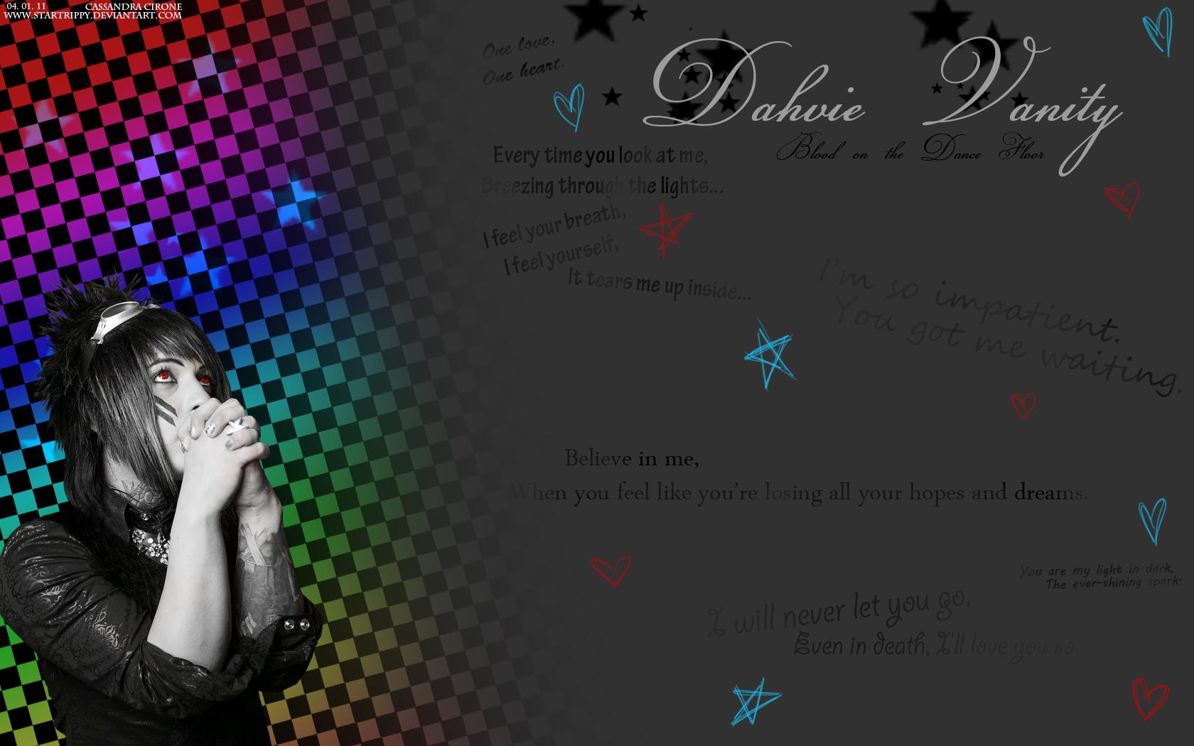 Blood on The Dance Floor images Dahvie Vanity HD 1680x1050