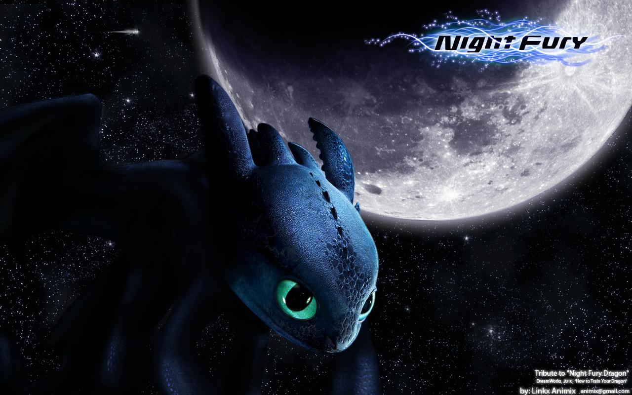 Night Fury by linkx wemic 1280x800