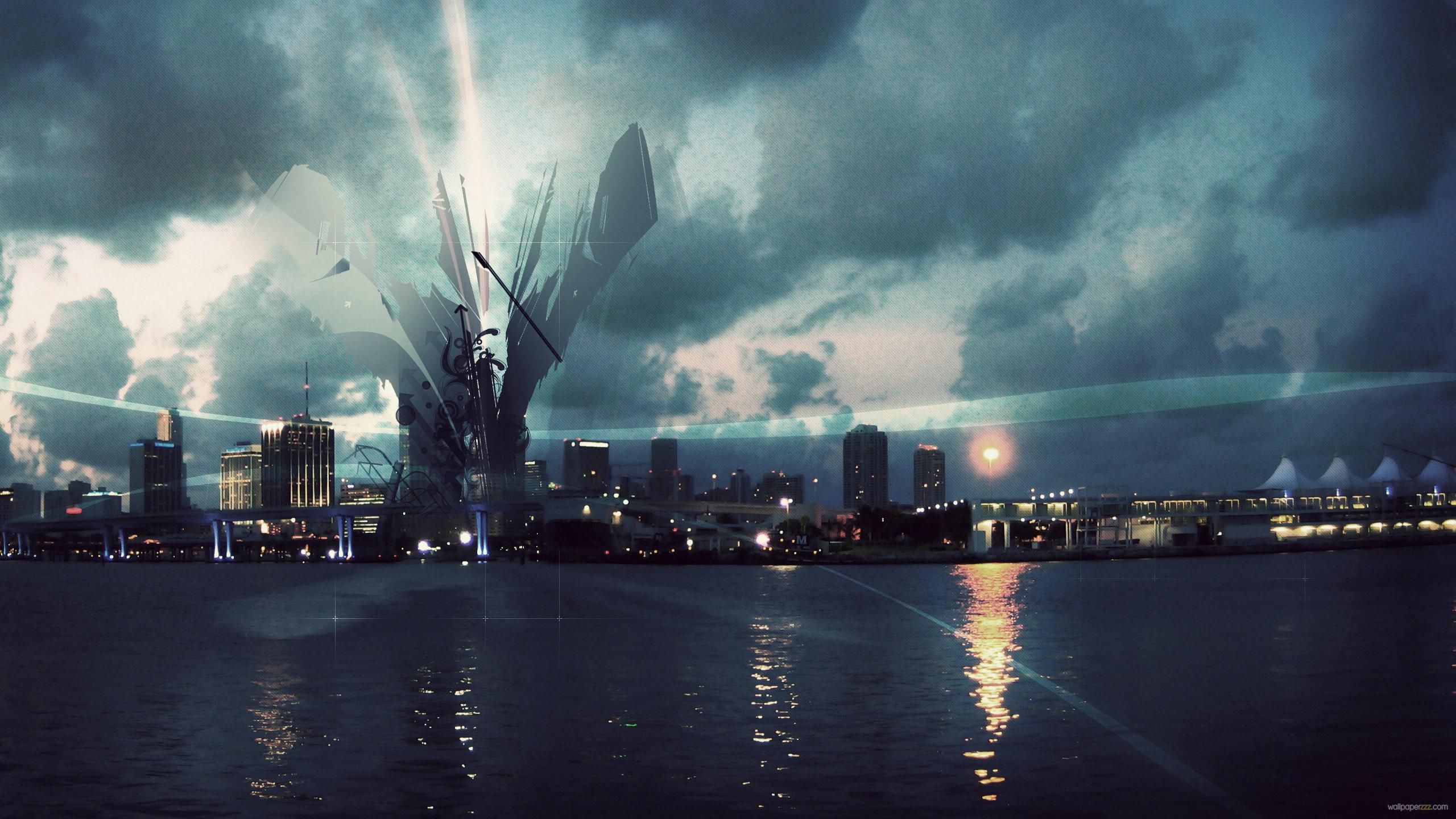 cityscapes futuristic wallpaper 1900x1041 - photo #39