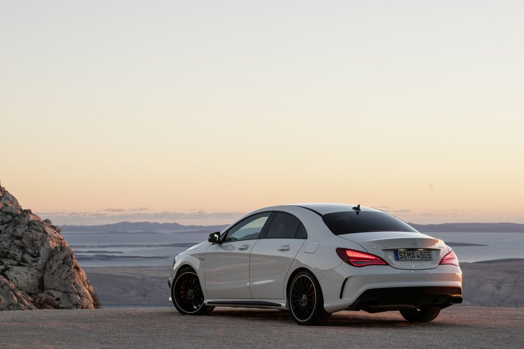 Mercedes Benz CLA Class CLA45 AMG Wallpaper Mercedes benz cl 1024x682
