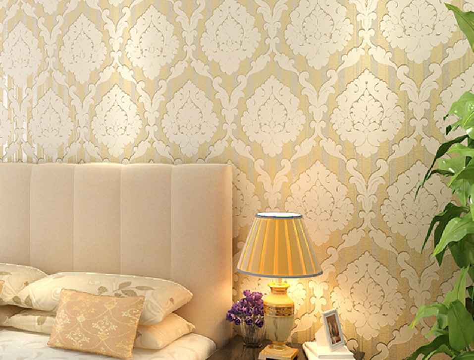 with leaf wallpaper nonwoven leaf wallpaper for warm interior 957x726