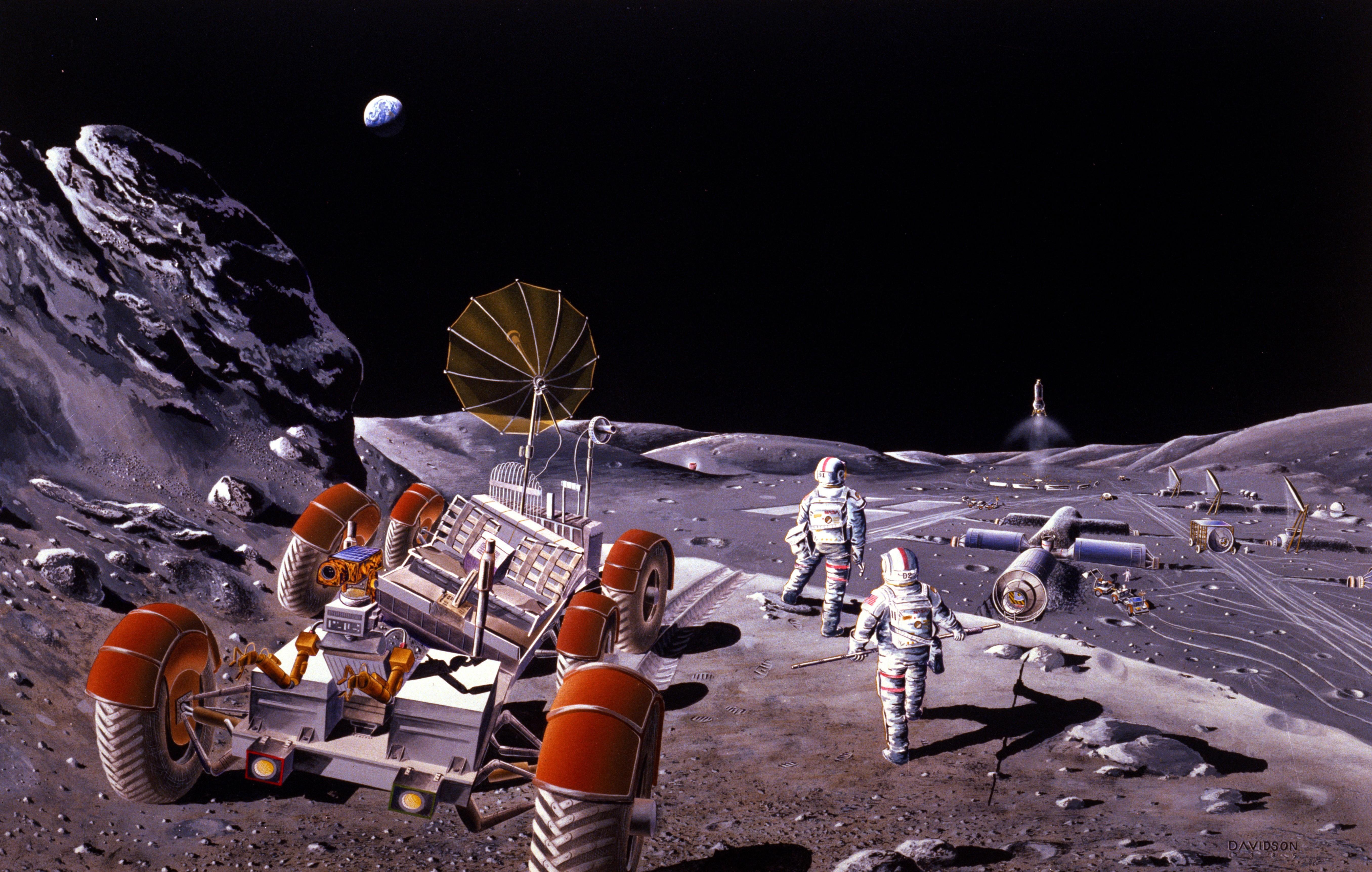moon base wallpaper - photo #6