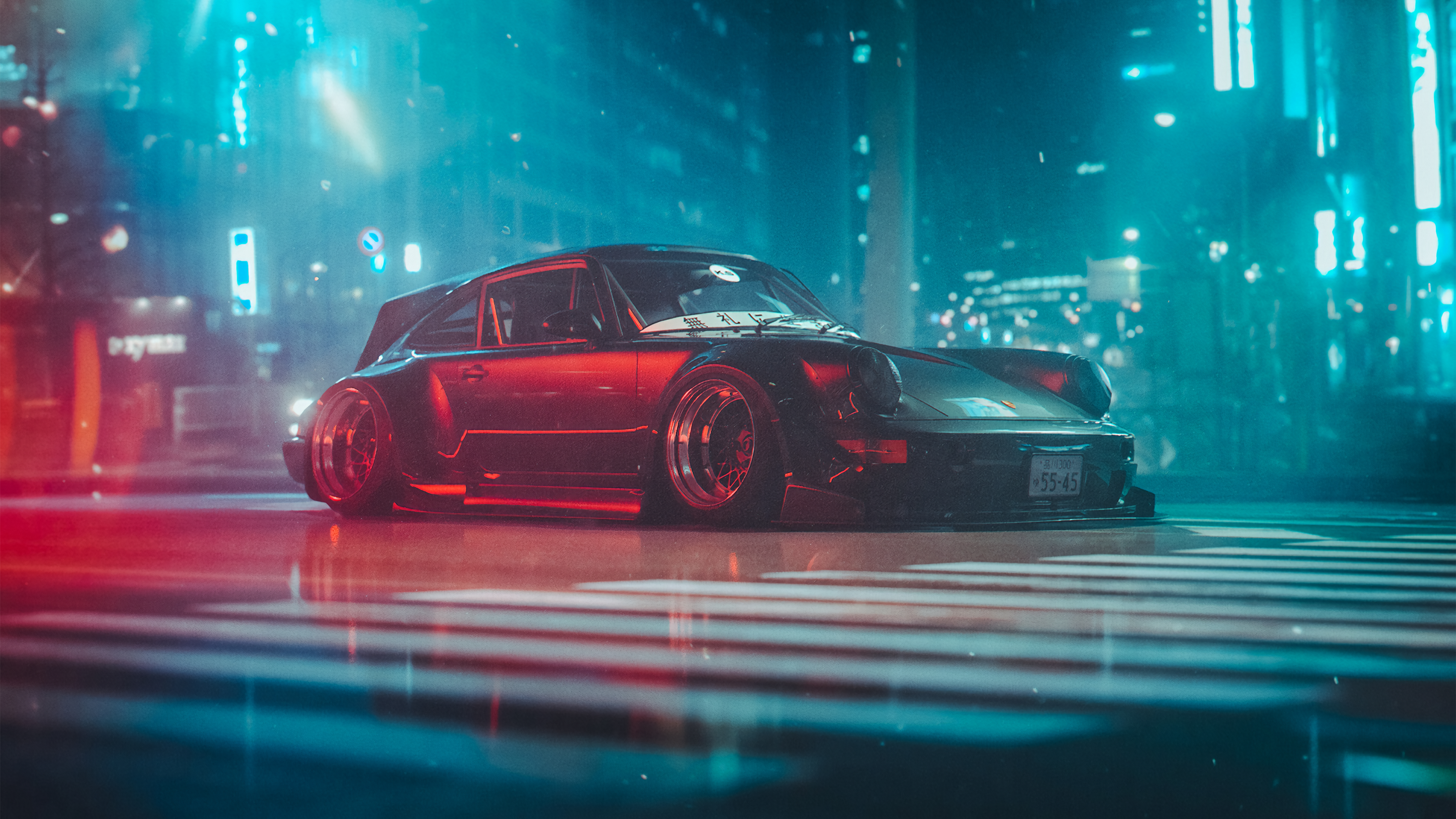 RWB 964 Wagon Khyzyl Saleem [3840x2160] Rwb Wagon Weird cars 3840x2160