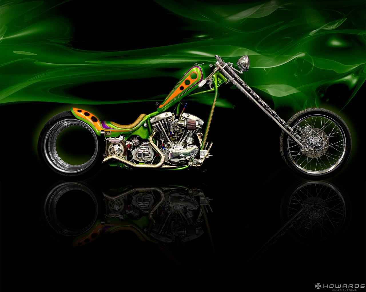 Harley Chopper Wallpaper Harley Davidson Chopper 1280x1024