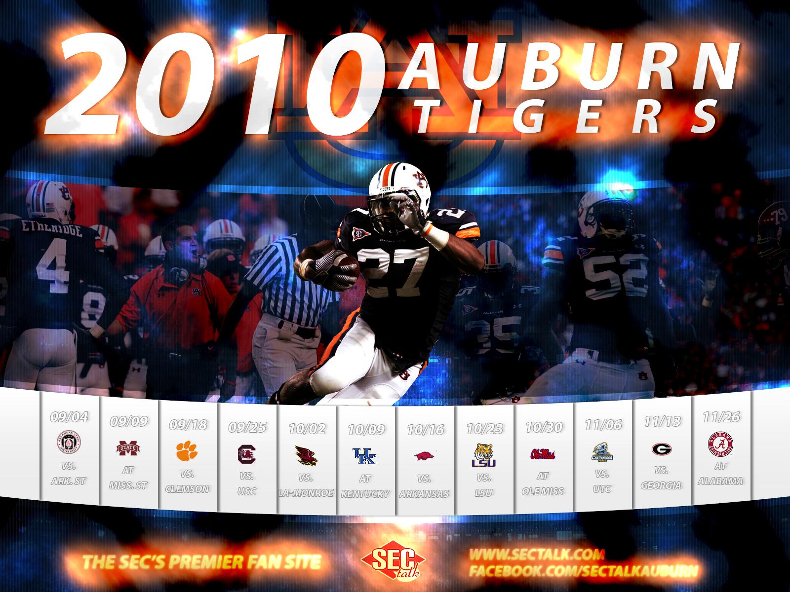 Free Auburn Tigers Desktop Wallpaper