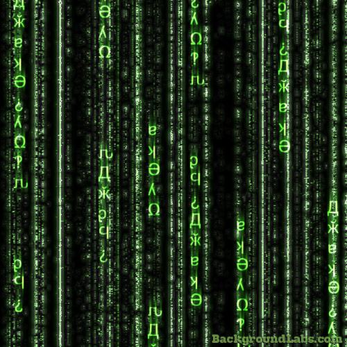 Matrix Code Background   Background Labs 500x500