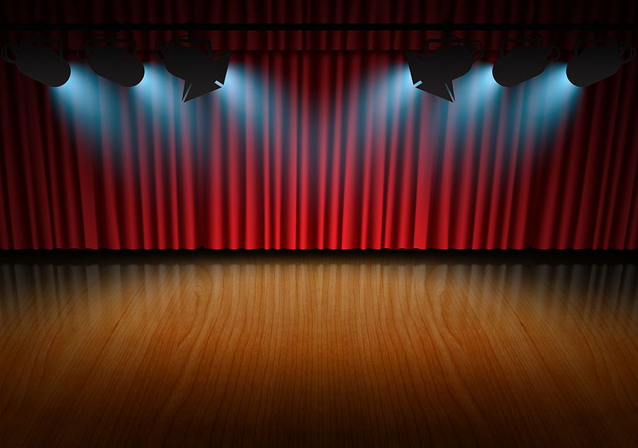 wallpapers red curtain background - photo #33