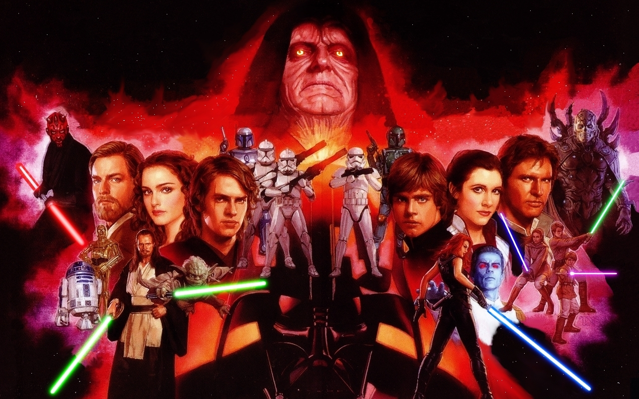 50 Star Wars Characters Wallpaper On Wallpapersafari