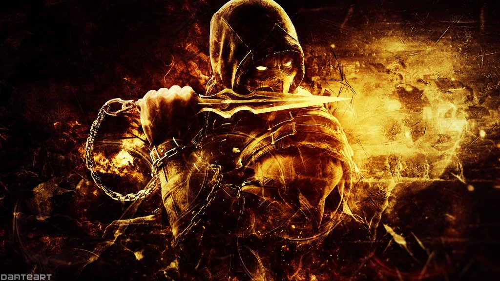 Mortal Kombat X Scorpion Wallpaper by DanteArtWallpapers 1024x576