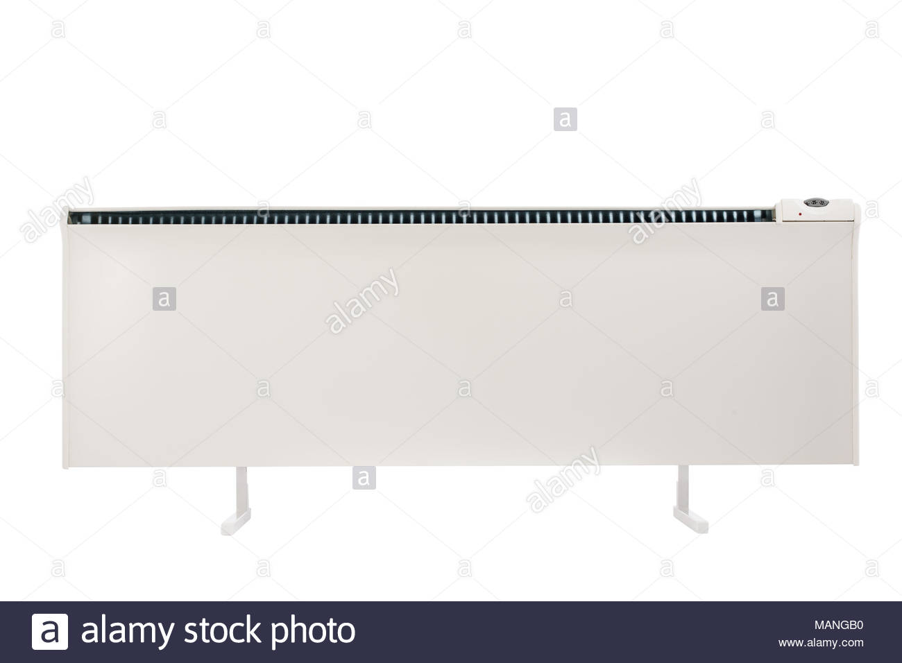 Forced convection heater isolated on white background with 1300x956