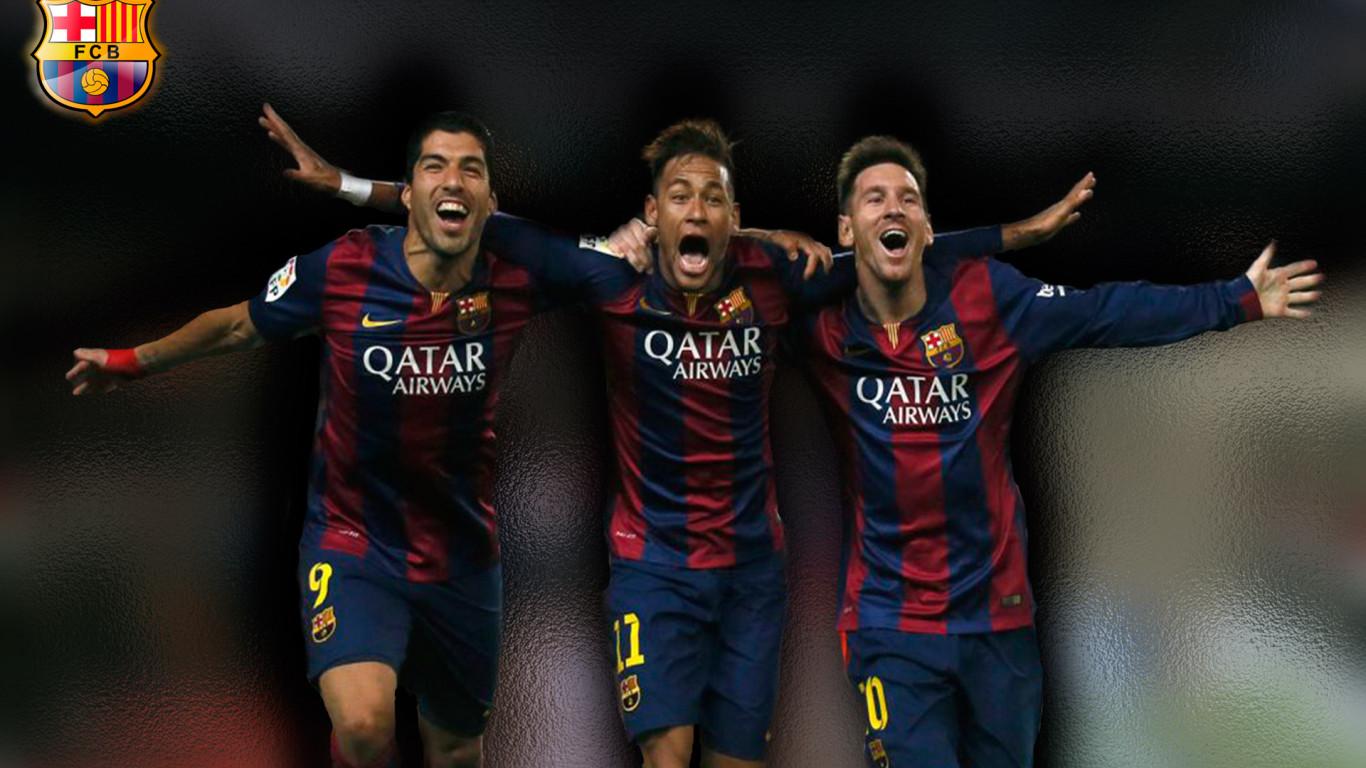 Djanos tu opinin sobre el Wallpaper Messi Neymar y Surez 1366x768