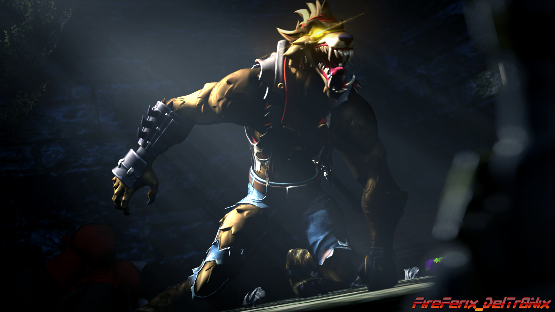 Coolest Fortnite Werewolf Skin Concept Art by Fireferix 4341 1920x1080