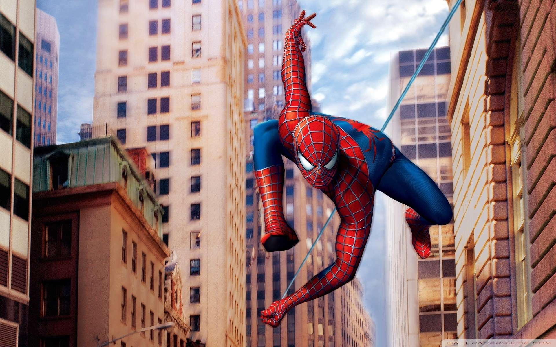 Wallpaper Spiderman Marvel Wallpaper 1080p HD Upload at January 2 1920x1200