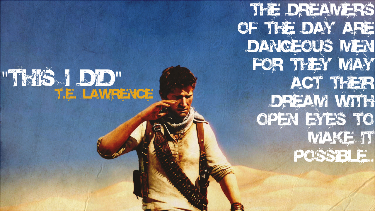 Uncharted 3 Wallpaper by xSilverwingx 1280x720