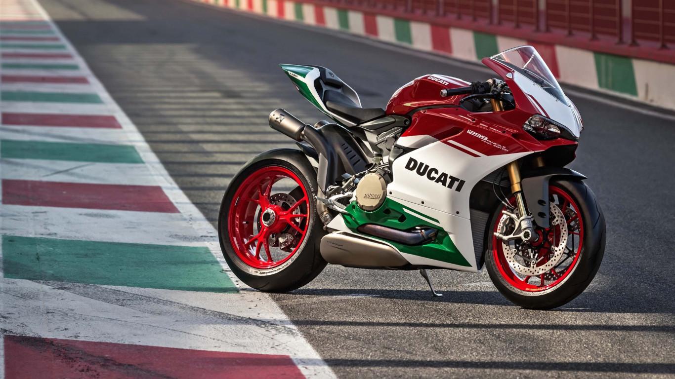 Download wallpaper Ducati 1299 Panigale R 1366x768 1366x768
