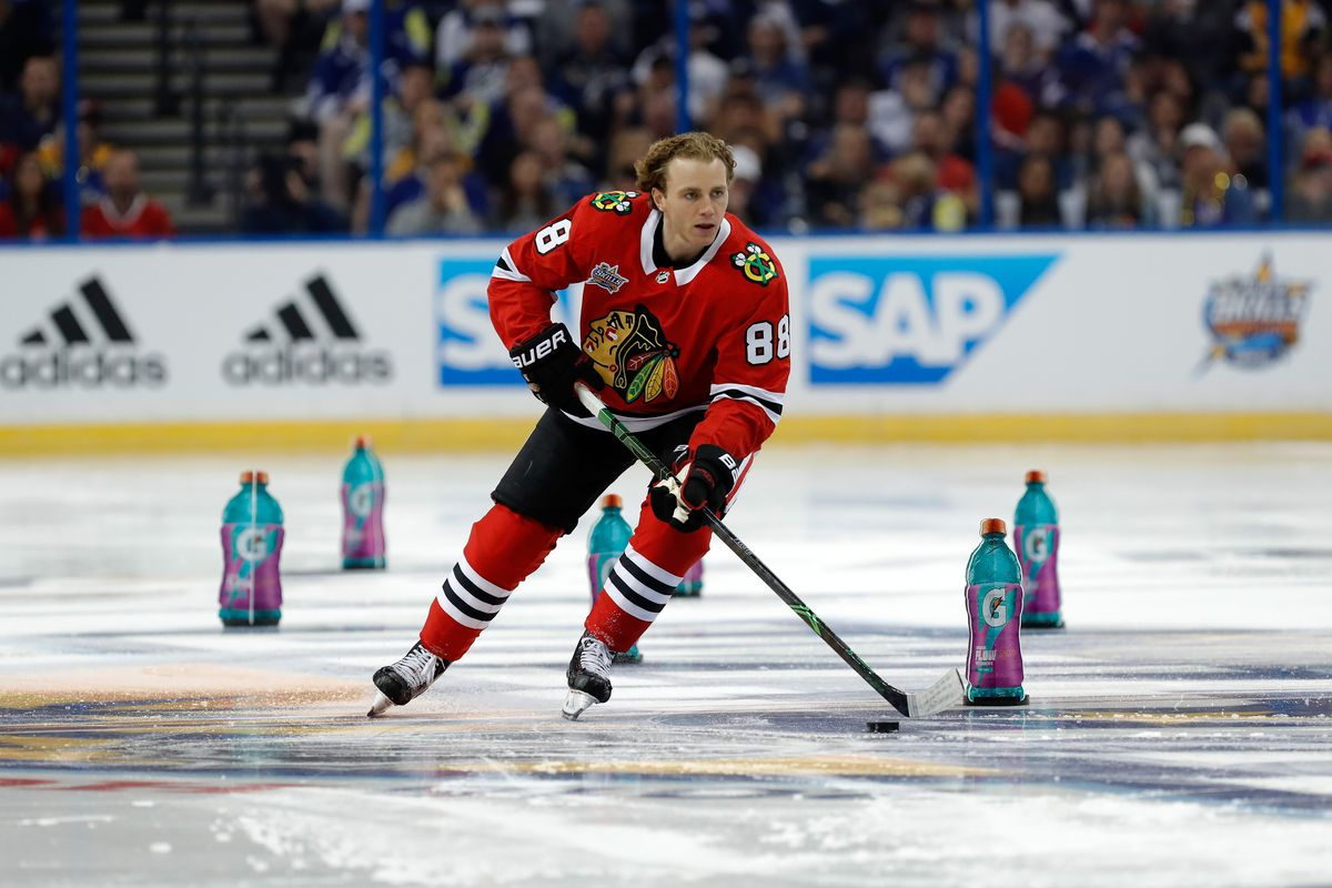 2019 NHL All Star Skills Competition Blackhawks Patrick Kane to 1200x800