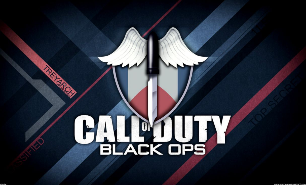 Free Download Call Of Duty Logo Hd Wallpaper The Great Wallpapers