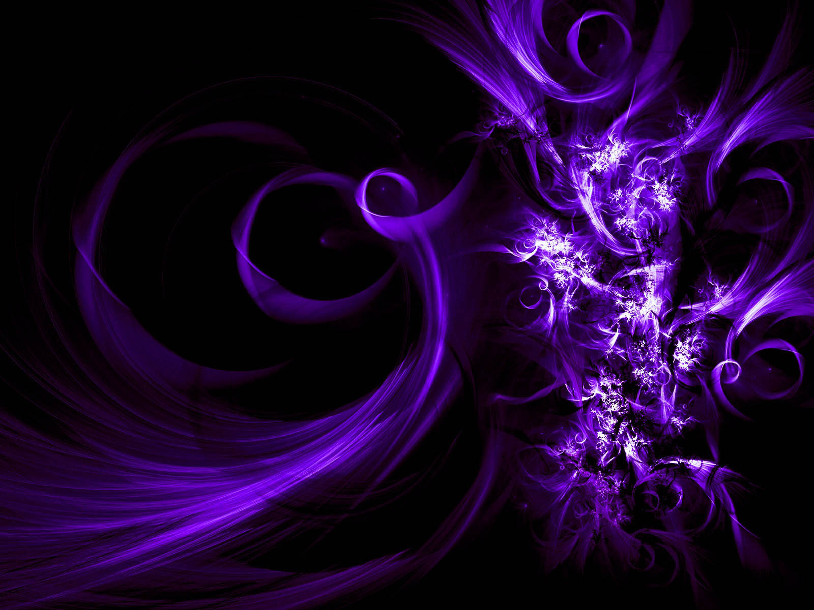 wallpaper Purple Abstract Wallpapers 1600x1200