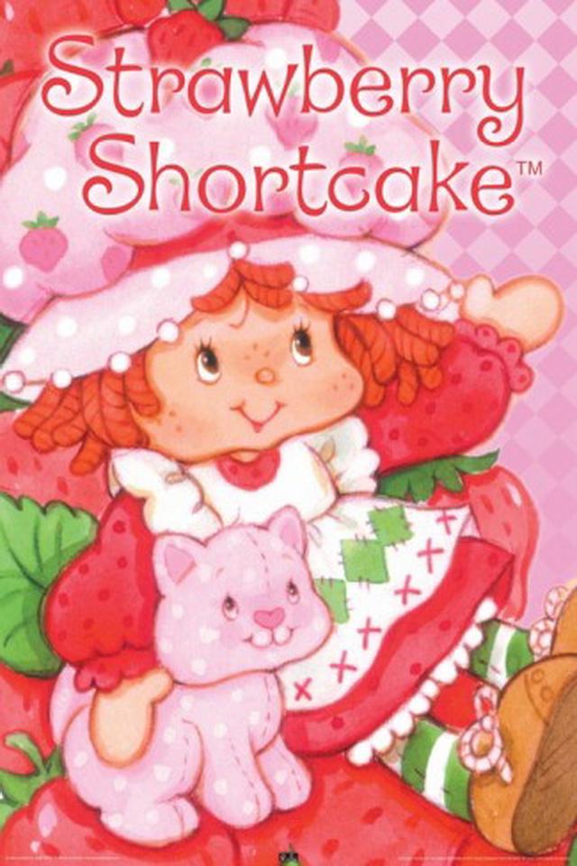[75+] Strawberry Shortcake Backgrounds on WallpaperSafari  Vintage Strawberry Shortcake Wallpaper