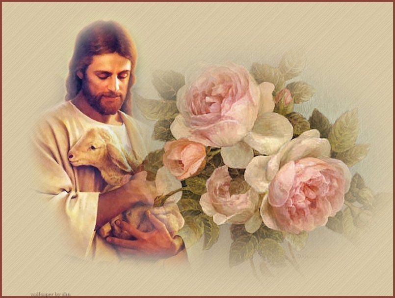 Our Lord The Easter Lamb wallpaper   ForWallpapercom 805x606