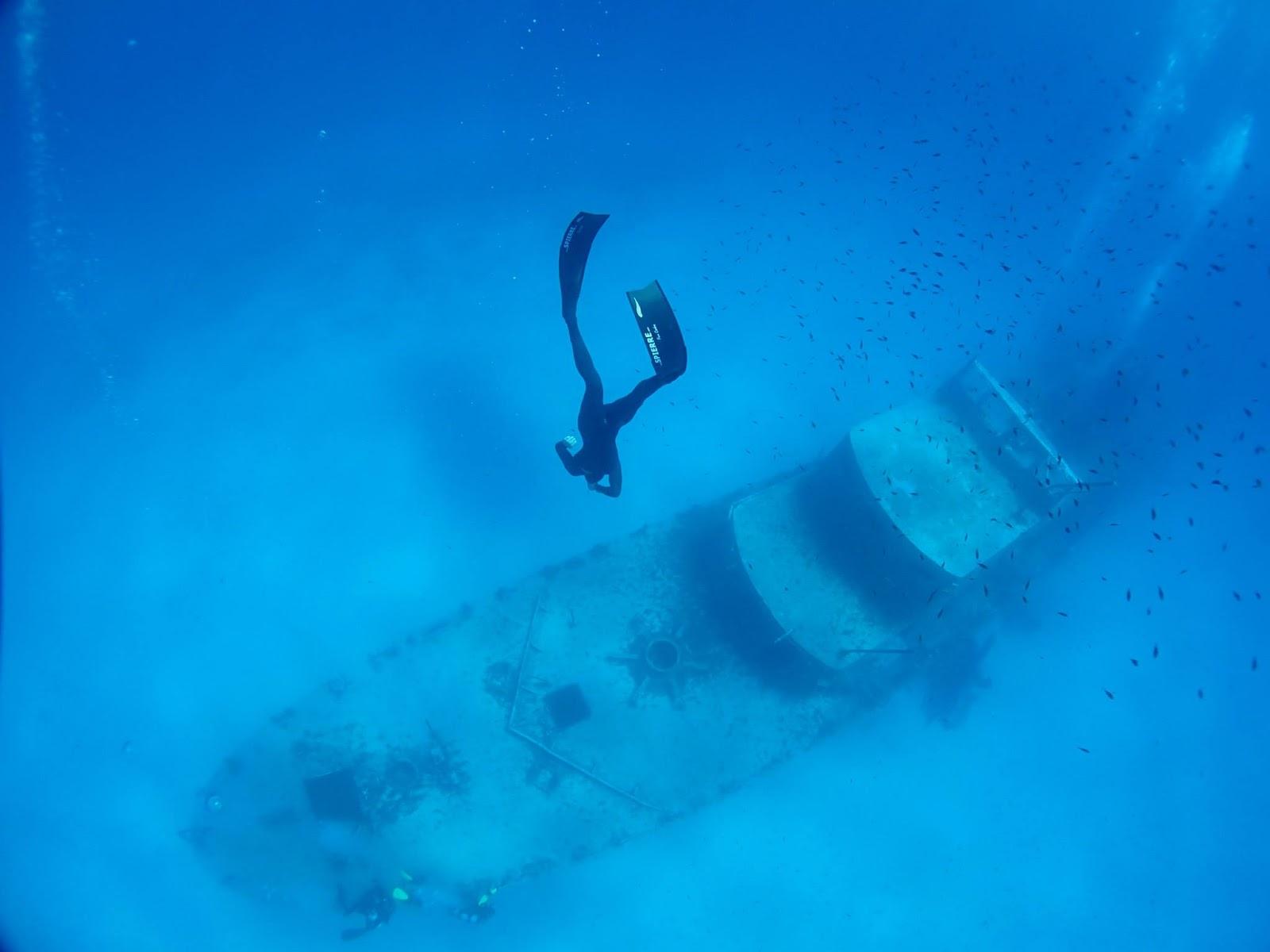 Spierre Fins Blogsite Rune Hallum Freediving in Malta 1600x1200