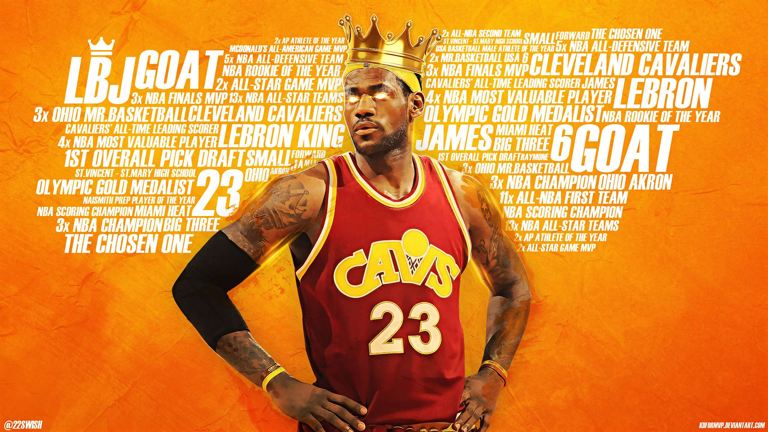 LeBron The King James 2017 25601440 Wallpaper Basketball 2560x1440