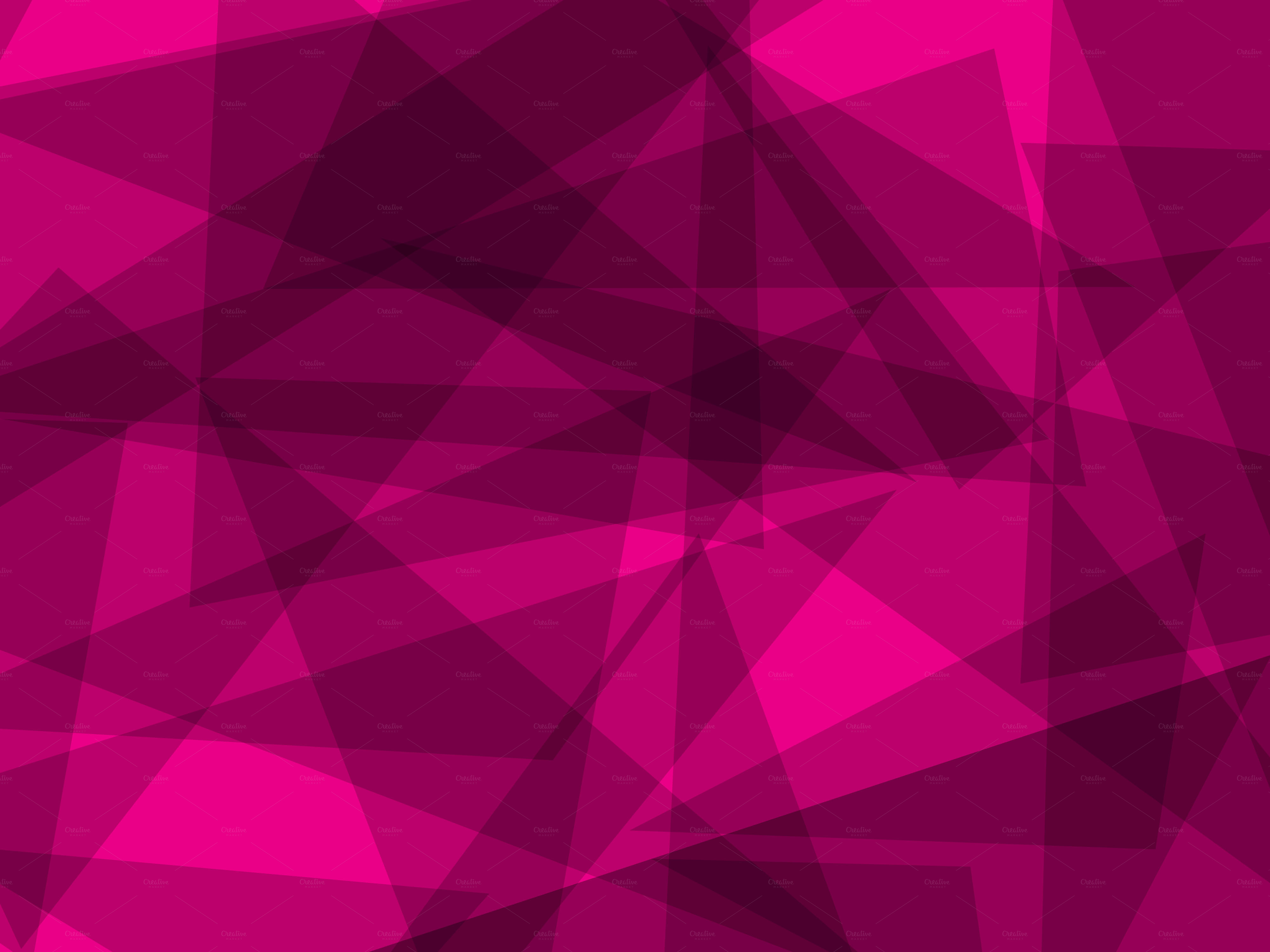 Pink Geometric Wallpaper Wallpapersafari