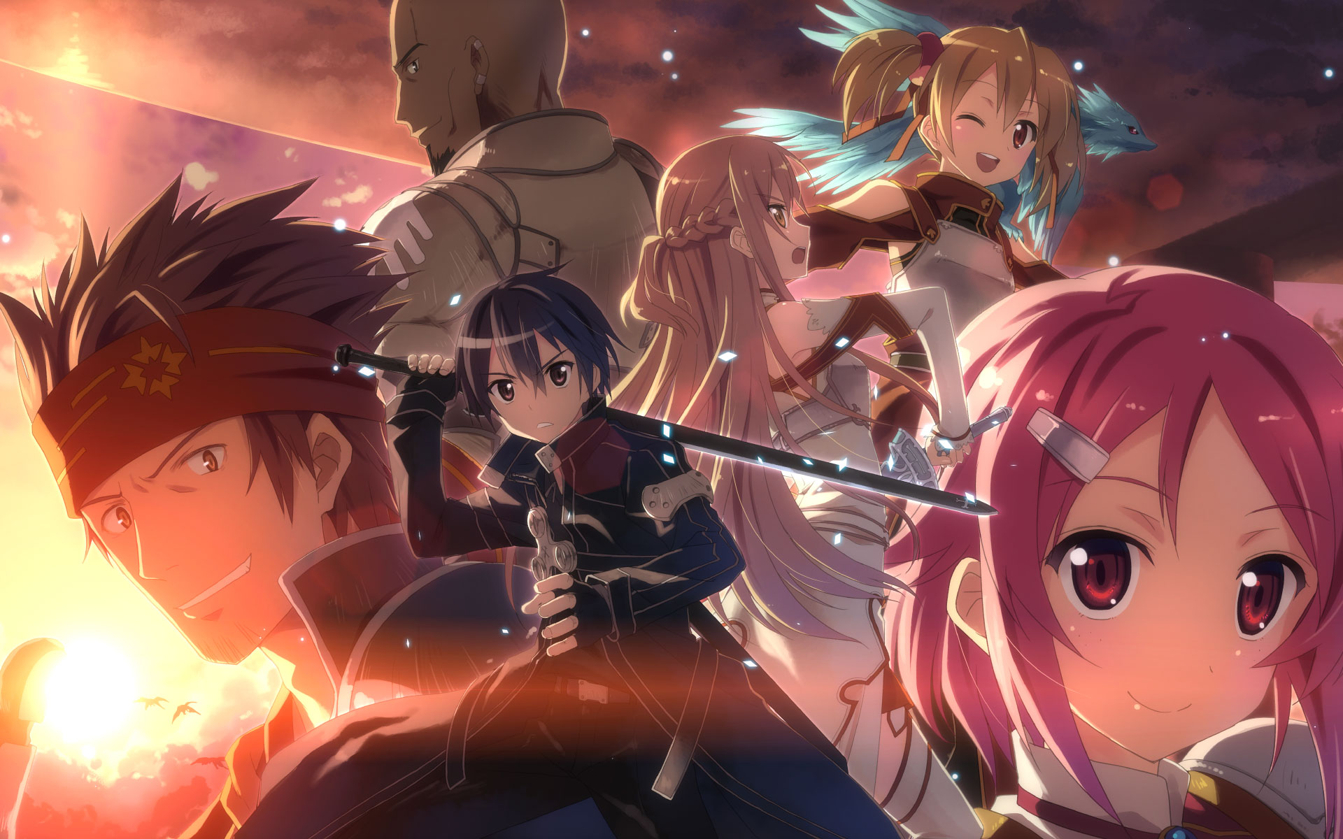 sao   Sword Art Online Wallpaper 31982400 1920x1200