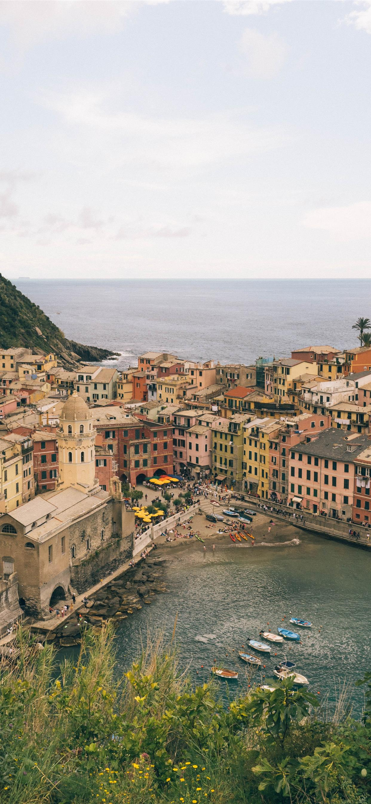 Vernazza Cinque Terre Italy May 2019 iPhone Wallpapers Download 1242x2688